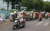 Ngộp thở với các bãi rác kinh dị giữa đường phố Sài Gòn