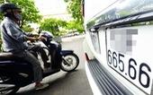 Bộ Công an đề xuất nộp lại biển số khi bán xe