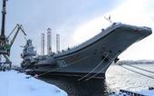 Cháy dữ dội trên tàu sân bay duy nhất của Nga