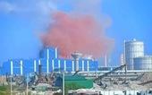 'Bụi hồng ở Nhà máy thép Hòa Phát Dung Quất là bụi sắt'