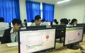 Học trò thích thú kiểm tra giữa kỳ bằng bài thi đánh giá năng lực