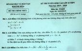 668 bài thi toán điểm 0, thầy cô phải nhận trách nhiệm của mình