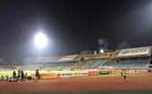Sân Hàng Đẫy không bóng người, CĐV Hà Nội tiếp sức bên ngoài khán đài B