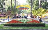 Hội hoa Xuân TP Hồ Chí Minh sẽ kéo dài 12 ngày