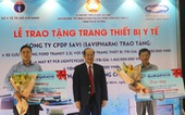 Tấm lòng vàng của SAVIPHARM - Trao tặng các thiết bị y tế trị giá 5 tỉ đồng cho sở y tế TP.HCM