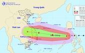 Bão số 9 đi vào Biển Đông với tốc độ rất nhanh và liên tục nạp năng lượng