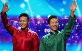 Quốc Cơ, Quốc Nghiệp đấu giá áo dài mặc tại Britain's Got Talent ủng hộ miền Trung