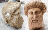 Phát lộ bức tượng cổ của thần Hermes ở thủ đô Hy Lạp