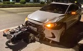 Đình chỉ đội trưởng Thanh tra giao thông lái ôtô ngược chiều, tông nữ lao công tử vong