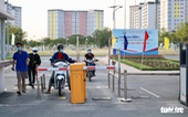 Ký túc xá ĐH Quốc gia TP.HCM tiếp nhận sinh viên trở lại từ 7h ngày 27-2