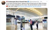 Đại sứ Anh giải thích việc kêu gọi công dân Anh rời Việt Nam 'đừng trì hoãn'