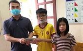 Học sinh lớp 7 nhặt được 50 triệu đồng, tìm trả lại người đánh rơi