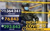 Dịch COVID-19 chiều 7-4: Nhật ban bố tình trạng khẩn cấp, Singapore cấm tụ tập kể cả ở nhà riêng