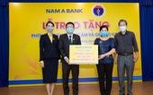 Nam A Bank tặng 2 phòng cách ly áp lực âm và 40 giường y tế