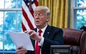 Luật trừng phạt Trung Quốc đã tới bàn làm việc của ông Trump