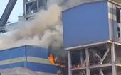 Cháy tại khu liên hợp sản xuất Gang thép Hòa Phát Dung Quất