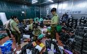 Kho hàng lậu 'khủng' giữa Lào Cai: doanh thu mỗi tháng hơn 10 tỉ đồng