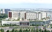 Cận cảnh Bệnh viện Ung bướu hiện đại, có sân đậu trực thăng