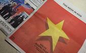Báo Hong Kong in nguyên trang quốc kỳ Việt Nam, dành 6 trang viết về Đại hội Đảng XIII