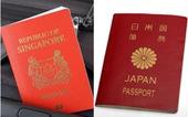 Hộ chiếu 'quyền lực' thế giới: Việt Nam xếp thứ 95