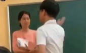 Clip 'học sinh tát cô giáo' xảy ra ở Hà Nội vào tháng 5-2020
