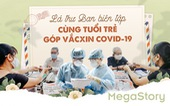 Danh sách 'Cùng Tuổi Trẻ góp vắcxin COVID-19' và đóng góp nhà hảo tâm