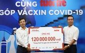 Công ty AB InBev ủng hộ 120 triệu đồng 'Cùng Tuổi Trẻ góp vắc xin COVID-19'