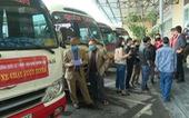 Điều xe buýt 'giải cứu' khách vì xe khách đồng loạt bãi bến