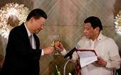 Ông Duterte 'xuống nước' với Trung Quốc?