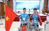 Sinh viên Việt Nam giành huy chương vàng thi nghề 4.0
