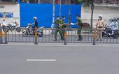 Truy bắt kẻ sát hại tài xế xe ôm trên đường Lý Thái Tổ