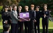 Tổng thống Hàn Quốc bổ nhiệm nhóm BTS làm đặc phái viên ngoại giao công chúng