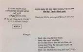 1 ngày, Sở Y tế TP.HCM 2 lần ra văn bản khẩn thu hồi 2 văn bản ban hành trước