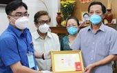 Truy tặng huy hiệu 'Tuổi trẻ dũng cảm' cho đại úy Phan Tấn Tài