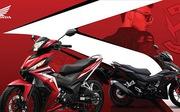Honda WINNER 150 phối màu mới phong cách cùng tem xe riêng biệt