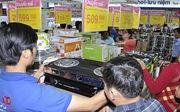 Co.opmart Chu Văn An tấp nập khách mua hàng khuyến mãi