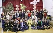 Du học sinh vui năm mới cùng HLV Park Hang Seo