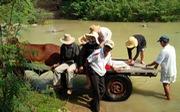 Sau tết người làng ra sông Dinh 'điểm danh'