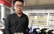 Bắt một quản lý trong trung tâm thương mại trộm xe máy