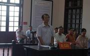 Nguyên phó viện trưởng Viện Kiểm sát nhân dân Thái Nguyên hầu tòa