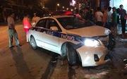 Xe tuần tra CSGT tông ôtô, xe máy, một người chết