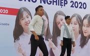 Màn nhảy cực chất của sinh viên người Campuchia tại Chương trình tư vấn tuyển sinh