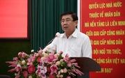 Chủ tịch Nguyễn Thành Phong cam kết 6 nội dung phát triển TP.HCM thành đô thị thông minh
