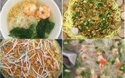 Bánh xèo, mì trộn kiểu Ý, mì Chũ nấu tôm: Đơn giản bữa sáng tại gia