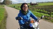Chuyến phượt xe máy của Trần Đặng Đăng Khoa lên báo Hà Lan
