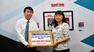Tôn Phương Nam ủng hộ 400 triệu đồng dựng lại mái nhà vùng bão