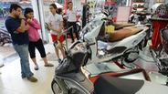 Xe tay ga tăng giá vài triệu đồng dịp cuối năm