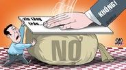 'Chính phủ nói không với việc xin tăng trần nợ công'