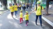 Hàng ngàn nghệ sĩ, bạn trẻ cùng chạy bộ vì bệnh nhi ung thư