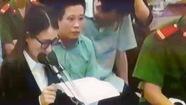 Diễn viên Quỳnh Tứ vừa khóc vừa tự bào chữa trước tòa